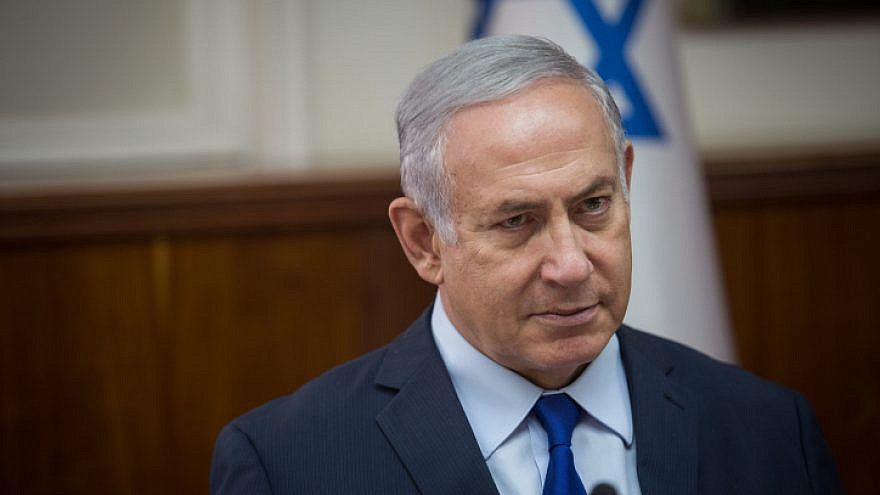 Israeli Prime Minister Benjamin Netanyahu in in Jerusalem on Sept. 17, 2018. Photo by Hadas Parush/Flash90.