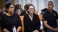 Lara Alqasem, a 22-year-old American graduate student, arrives to the courtroom at the Israel Supreme Court in Jerusalem on Oct. 17, 2018. Credit: Miriam Alster/Flash90.