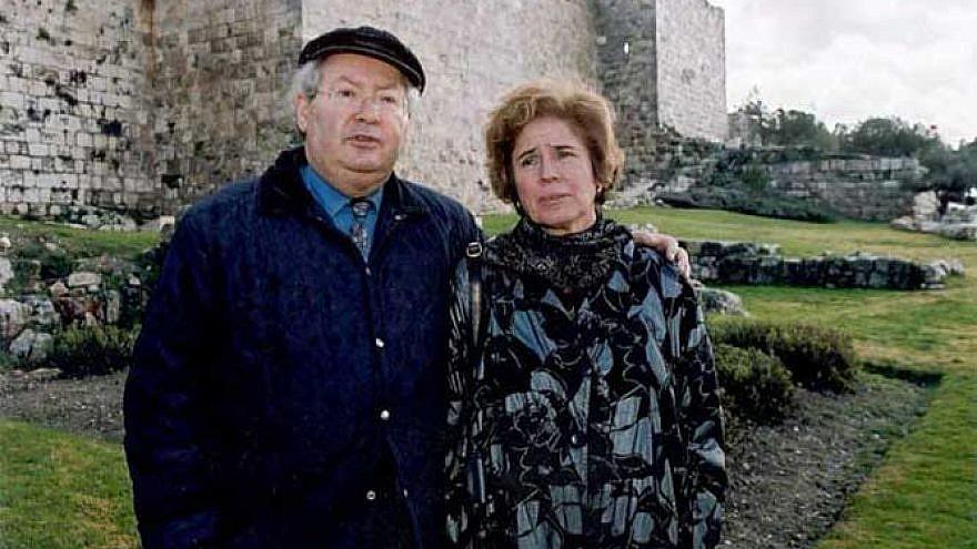 The Klarsfelds in Jerusalem in 2007. Source: The Klarsfeld Foundation.