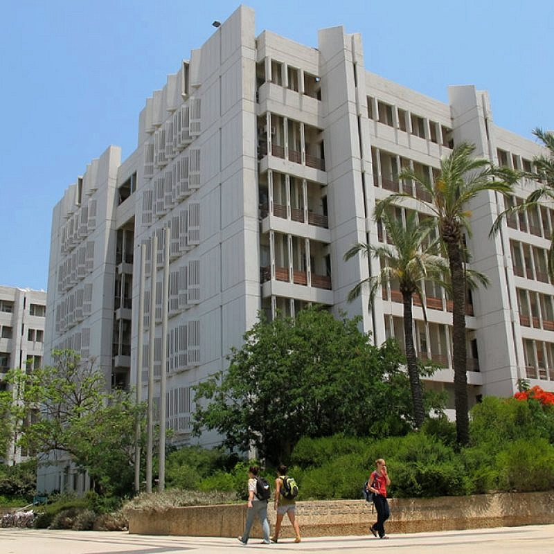 The Life Sciences Building at Tel Aviv University. Credit: Michael Jacobson/Wikimedia Commons.