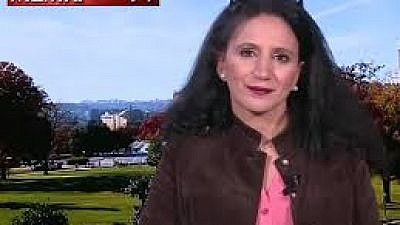 """Abeer Kayed, professor of political science at Howard University, Washington D.C., said that the Pittsburgh synagogue attack was """"strictly political"""" and not a hate crime, but that the media was trying to distort the motive. Her remarks were broadcast by the U.K.-based Al-Araby TV channel on Oct. 28, 2018, a day after the attack. (MEMRI)"""