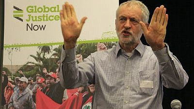 U.K. Labour leader Jeremy Corbyn. Credit: Global Justice Now.