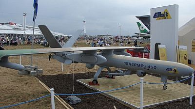 Elbit Hermes 450. Credit: Giles Thomas/Flickr.