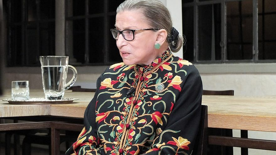 U.S. Supreme Court Justice Ruth Bader Ginsburg. Credit: European University Institute/Flickr.