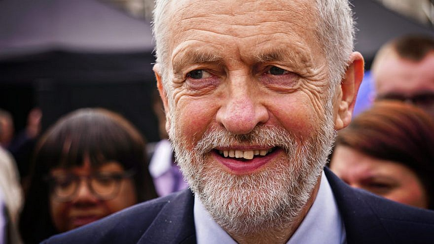 U.K. Labour leader Jeremy Corbyn. Credit: Gary Knight/Flickr.