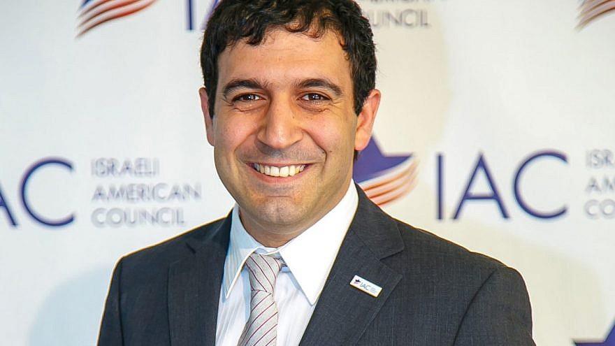 Israeli-American Council CEO Shoham Nicolet. Credit: IAC via Twitter.