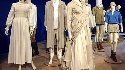 In Israel's early days, people wore clothes that resonated with the pioneering spirit of the time, and with the ideology of the youth movements and of the nation's leaders. Shown here are garments made by ATA. Credit: Maayan Jaffe-Hoffman.