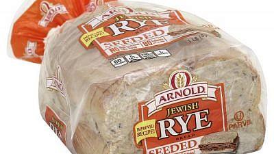 Arnold's kosher rye bread. Credit: Publix.com.