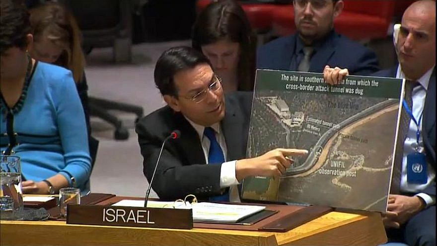 United Nations finds Hezbollah tunnels under Israeli side of border
