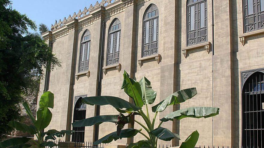 Ben Ezra Synagogue, Cairo. Credit: Wikipedia.