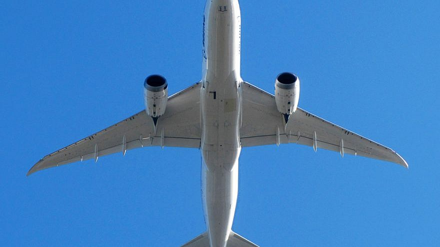 Boeing 787-800. Credit: Wikimedia Commons/Flickr.