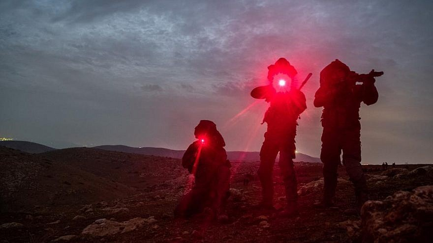 IDF special forces during a training exercise. Credit: IDF Spokesperson Unit.