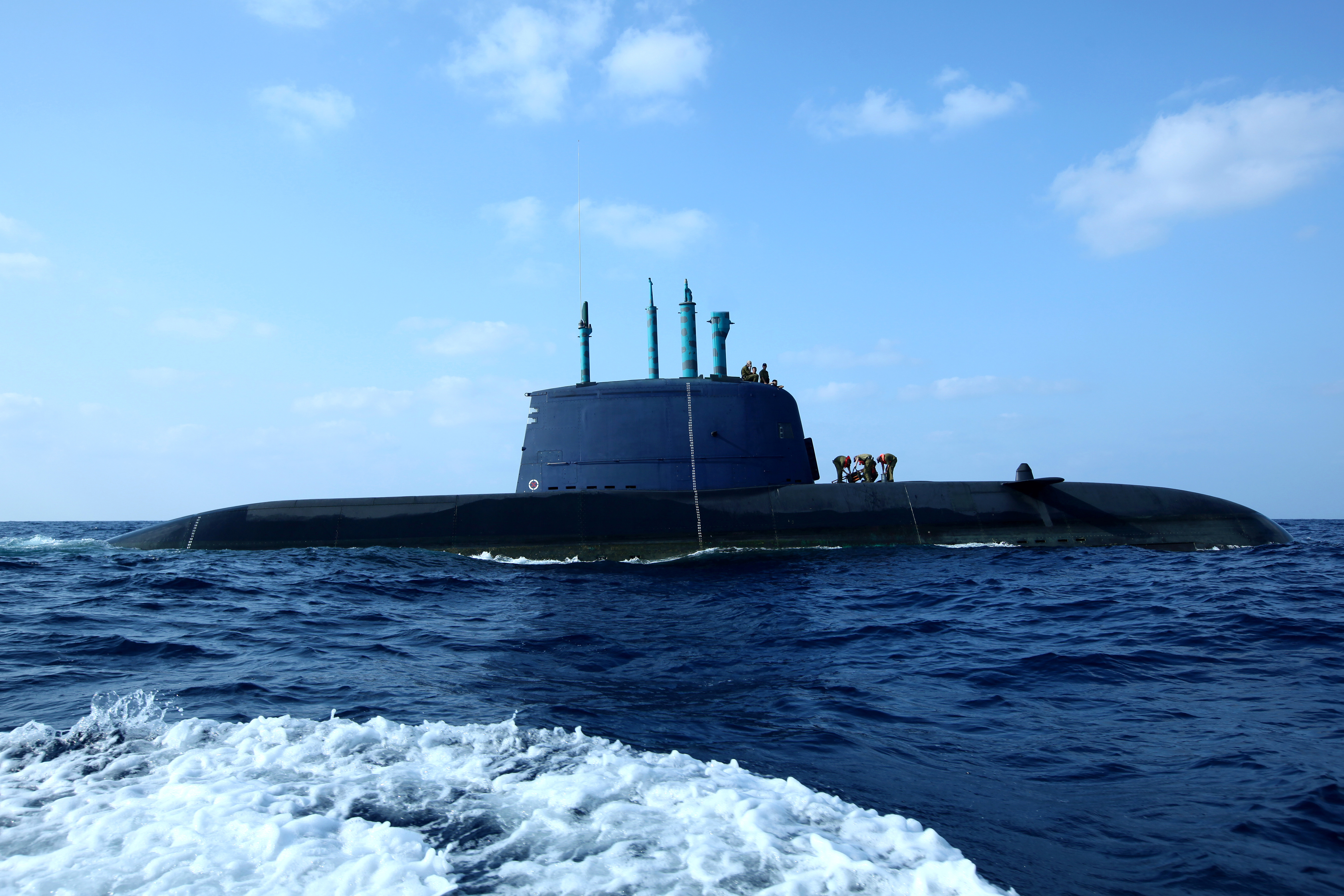 Germany's role in the Israeli Navy's developing submarine ...