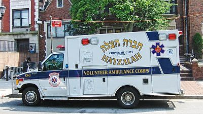 An ambulance used by Hatzalah in the Crown Heights neighborhood of Brooklyn, N.Y. Credit: Wikipedia.