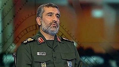 IRGC Aerospace and Missile Force commander Amir  Ali Hajizadeh (Source: Fars, Iran, Nov. 22, 2018) (MEMRI)