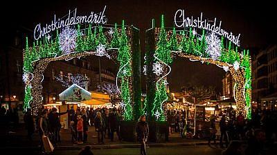 Strasbourg Christmas market. Source: Claude Truong-Ngoc.