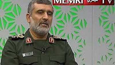 During a show on Channel 1 TV (Iran), the IRGC's Aerospace Force commander General Amir Ali Hajizadeh reviewed maps of different U.S. airbases in the region, including Al-Udeid in Qatar, Al-Dhafra in the UAE, and Kandahar in Afghanistan, saying that they are all within Iranian missile range. (MEMRI)