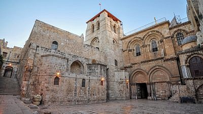 The Church of the Holy Sepulchre in Jerusalem. Credit: Jorge Láscar/Flickr.