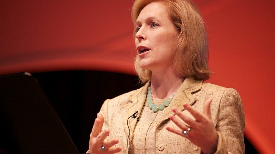 Sen. Kirsten Gillibrand (D-N.Y.) announced on Jan. 15, 2019, she has launched an exploratory committee to run for president. Credit: personaldemocracy/Flickr.
