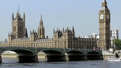 U.K. Houses of Parliament. Credit: Arpingstone/Wikimedia Commons.