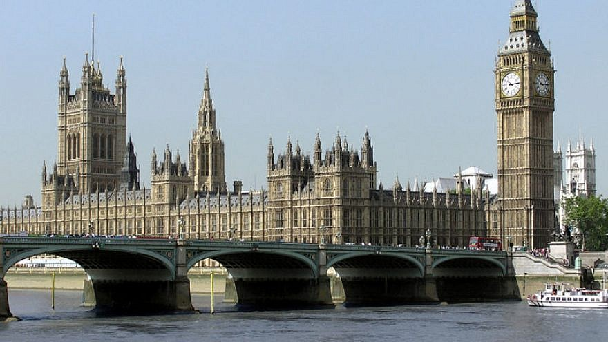 British Houses of Parliament. Credit: Wikimedia Commons.