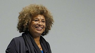 Civil-rights activist Angela Davis. Credit: Columbia GSAPP/Wikimedia Commons.