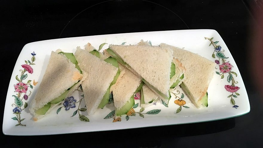 Take out your best trays for winter tea and fill them up with dainty delights, like these Cucumber Sandwiches. Credit: Ethel G. Hofman.