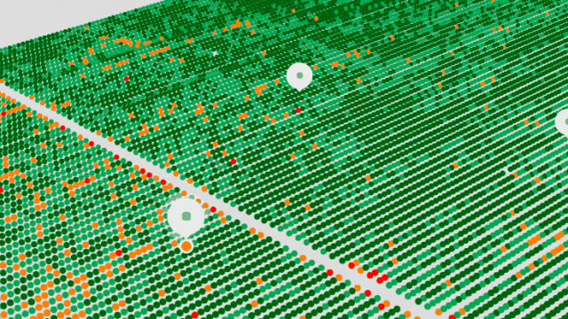 Israeli startup SeeTree utilizes drones and artificial intelligence to enable precision agriculture for orchards. Credit: Screenshot via SeeTree.