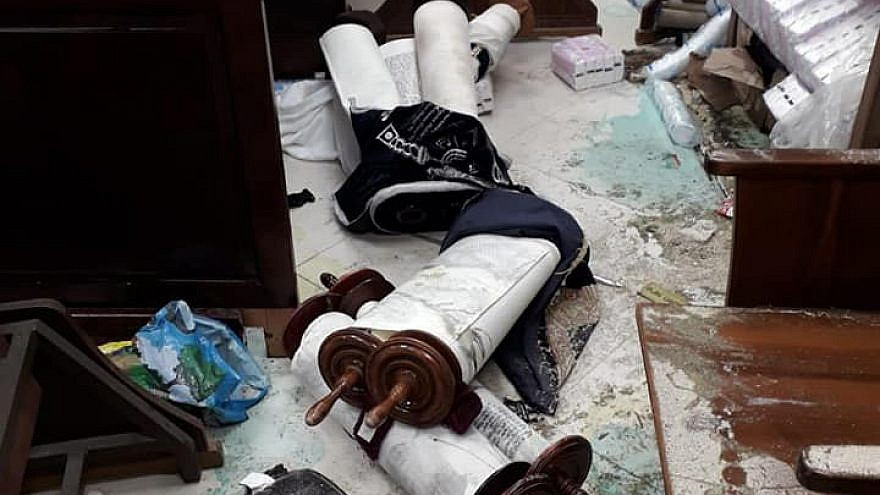 Synagogue in Jerusalem neighborhood desecrated, considered a