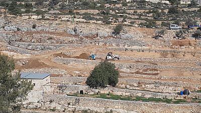 Pictures of the area. Credit: Regavim.