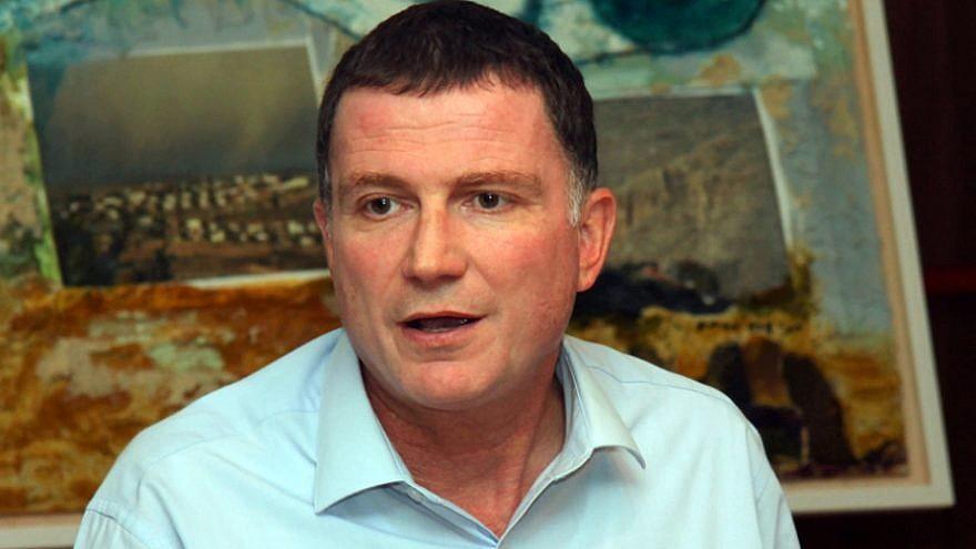 Speaker of the Knesset Yuli Edelstein. Credit: Yuri Levin/Wikimedia Commons.