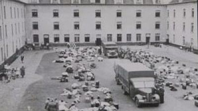 The Dossin barracks, between Brussels and Antwerp, the antechamber of the death camps. Credit: EJP.