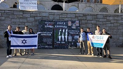 Students Supporting Israel chapter at Wake Forest University. Credit: Courtesy.