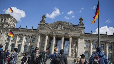 The Reichstag building, a historical edifice in Berlin, Germany, constructed to house the Imperial Diet of the German Empire. It was opened in 1894 and housed the Diet until 1933, when it was severely damaged after it was set on fire. May 15, 2016. Photo by Hadas Parush/Flash90.