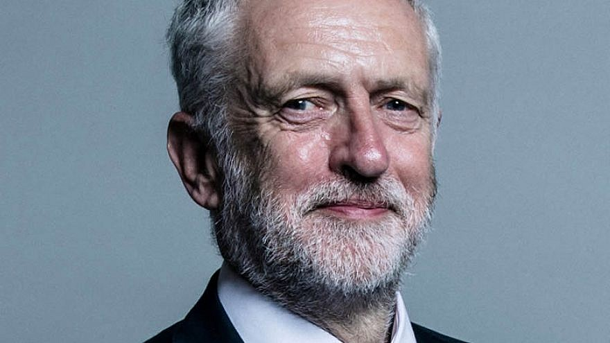 British Labour Party leader Jeremy Corbyn. June 2017. Photo by Chris McAndrew.