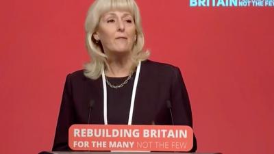 Former U.K. Labour General Secretary Jennie Formby. Source: Screenshot.