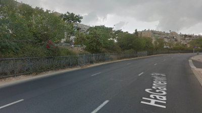 HaGanenet Street in Gilo, Jerusalem. Source: Google Maps.