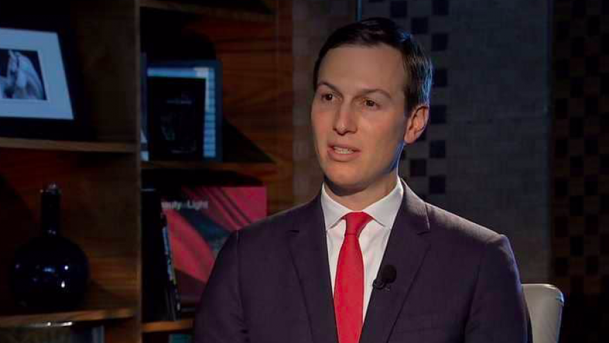 Jared Kushner, senior adviser to U.S. President Donald Trump, is interviewed by Sky News Arabia. Credit: Screenshot.