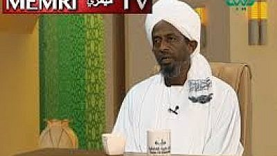 Sudanese cleric Alaa Al-Din Al-Zaki said in a Tayba TV (Sudan) show on Feb. 5, 2019 that the Jews epitomize trickery. (MEMRI)