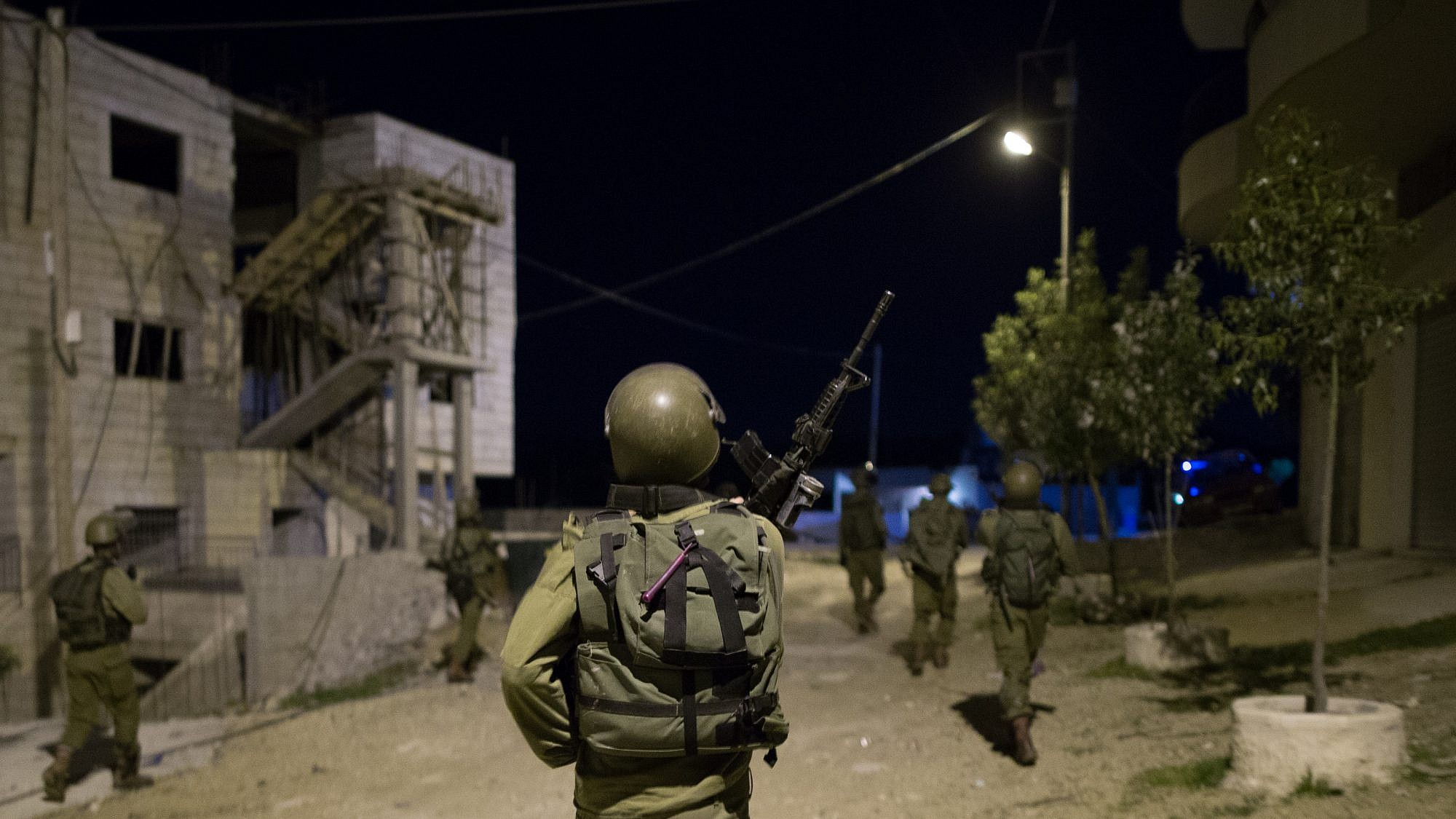 File photo: Nachshon Battalion soldiers during an operation of arresting terror suspects in the Duhaisha Refugee Camp, near the West Bank city of Bethlehem. Credit: Nati Shohat/Flash90.