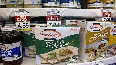 Manischewitz products. Credit: Robert Couse-Baker/Flickr.