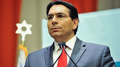 Israeli Ambassador to the United Nations Danny Danon. Credit: Courtesy.