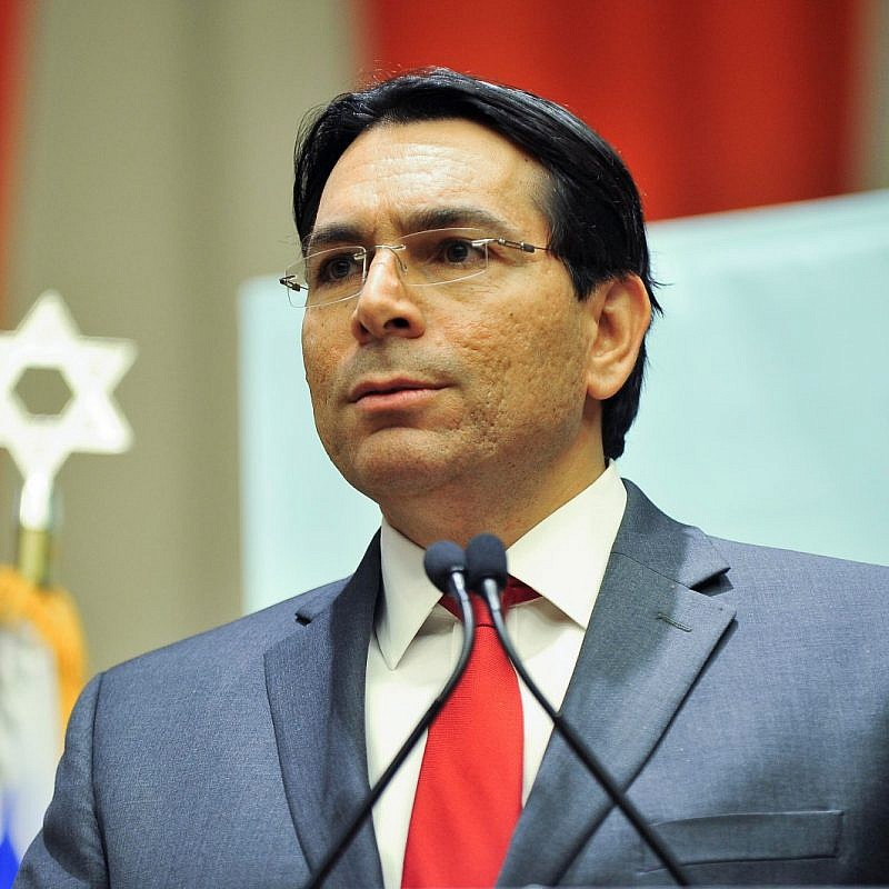 Israeli Ambassador to the U.N. Danny Danon. Credit: Courtesy.