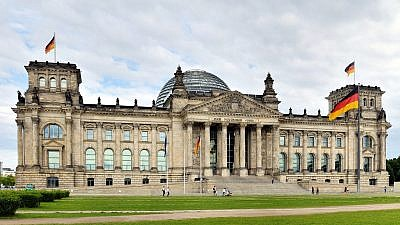 The Reichstag building in Berlin, where the Bundestag meets. Credit: Wikimedia Commons.