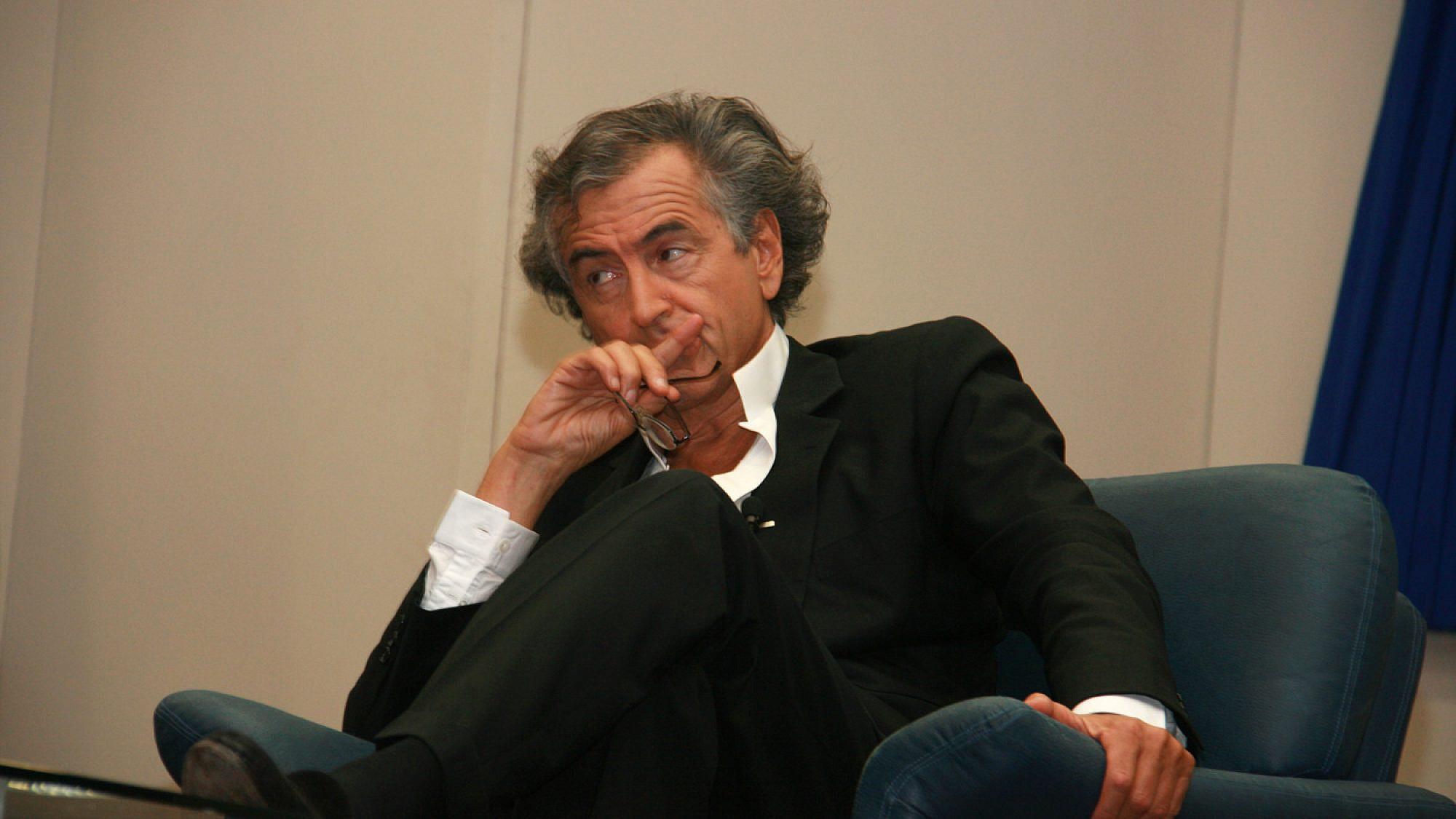 Bernard-Henri Lévy at Tel Aviv University. Credit: Itzike/Wikimedia Commons.