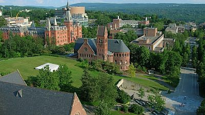 A view of Cornell University. Credit: Wikimedia Commons.
