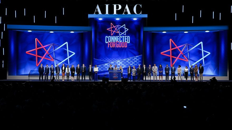 A view of the 2019 AIPAC Policy Conference proceedings in Washington, D.C. Source: AIPAC via Twitter.