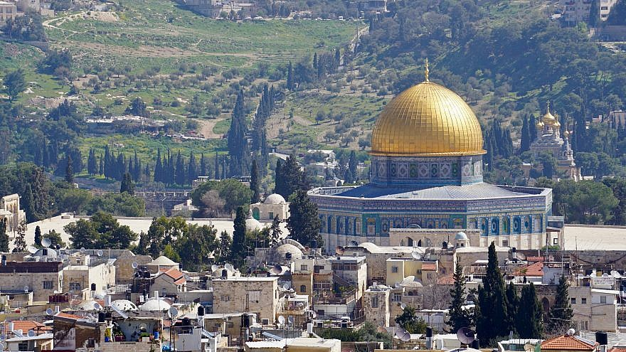 A view of the Temple Mount in Jerusalem. Credit: Judy Lash Balint.