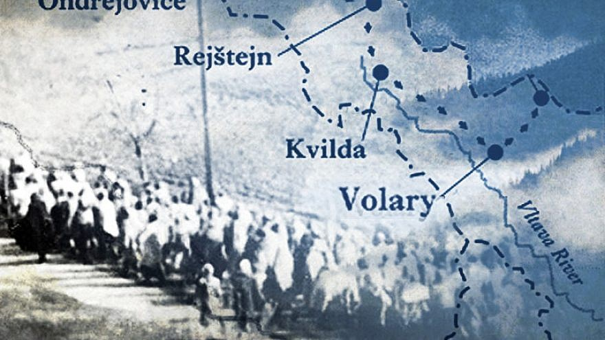A Nazi-enforced death march of Jewish women prisoners began from the Schlesiersee (today Sława) concentration camp in Upper Silesia in western Poland on Jan. 24, 1945, ending 106 days and some 800 kilometers later on May 5, 1945, in the town of Volary (German: Wallern) in Czechoslovakia. Credit: Yad Vashem.