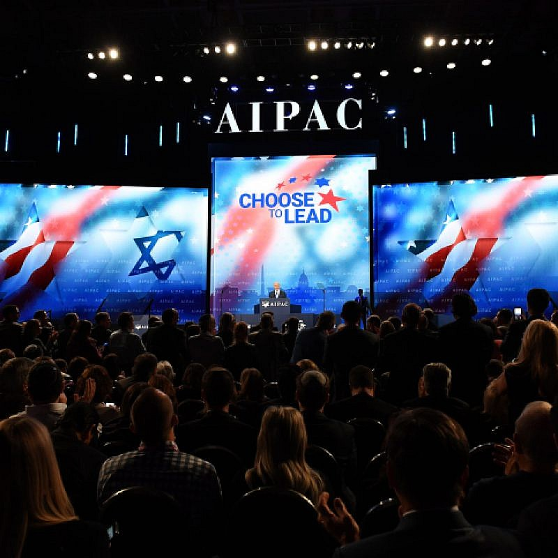 Prime Minister Benjamin Netanyahu speaks at the AIPAC Conference in Washington DC, US, on March 6, 2018 Photo by Haim Zach / GPO